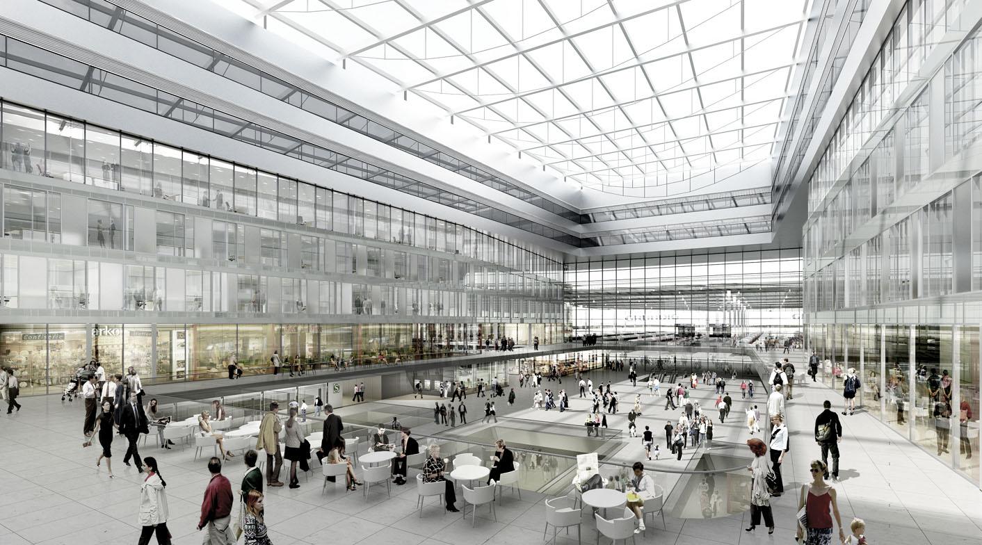 Neubau Münchner Hauptbahnhof