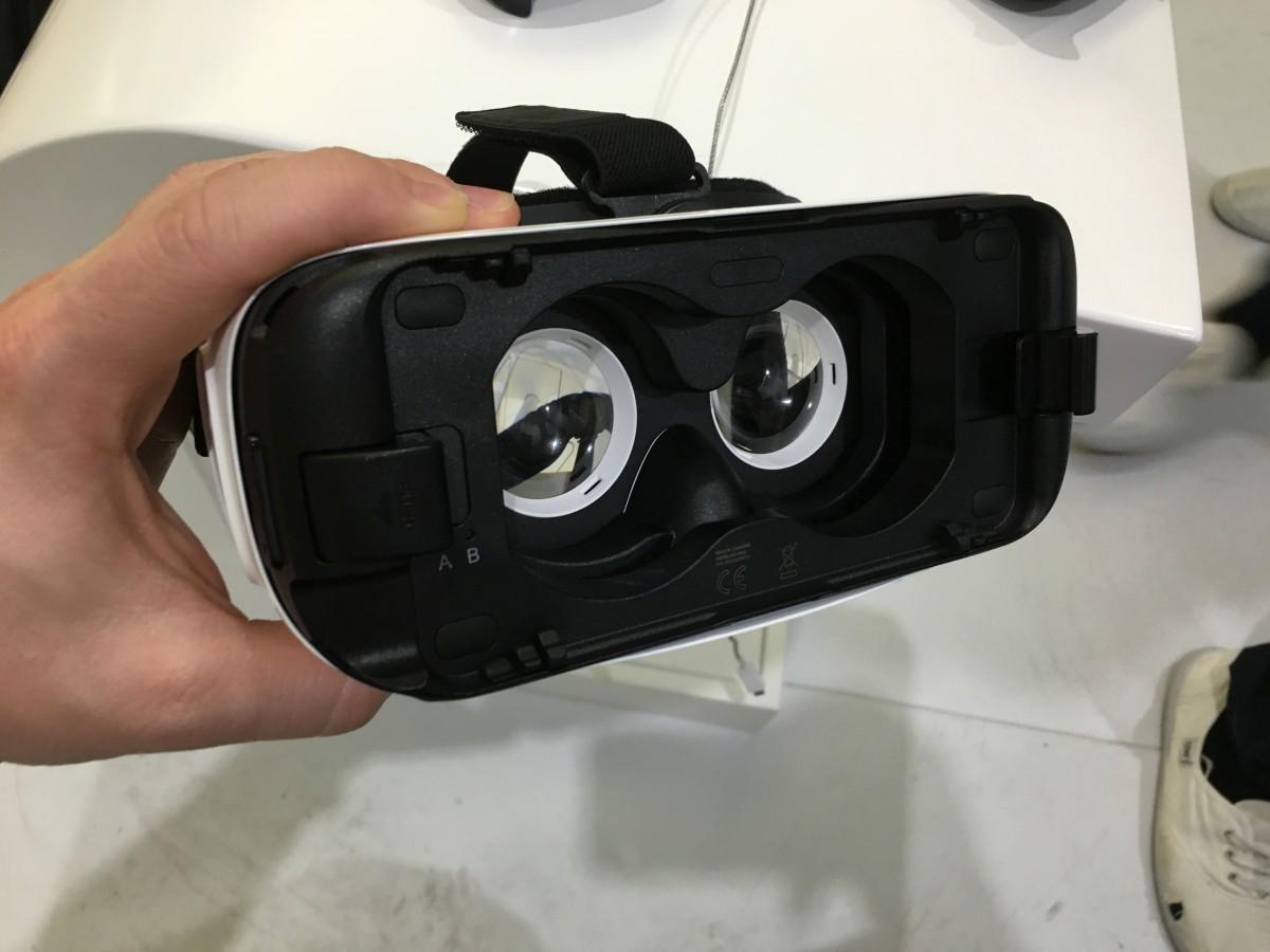 Das Innere von Gear VR
