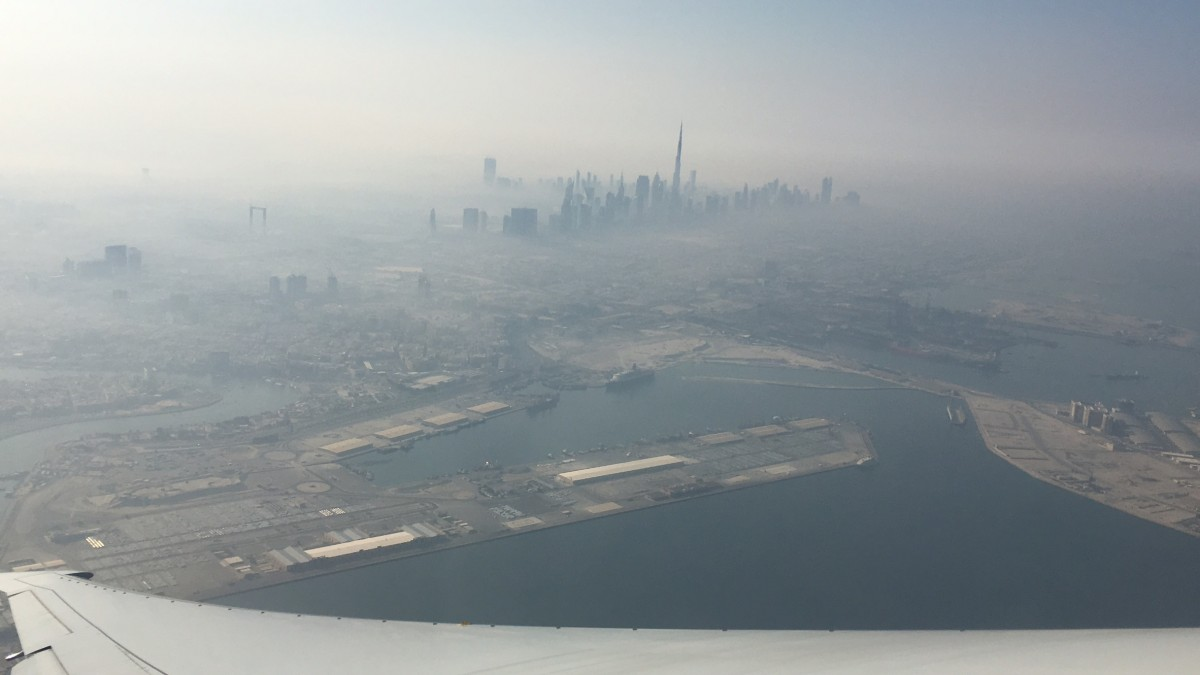 Vernebeltes Dubai