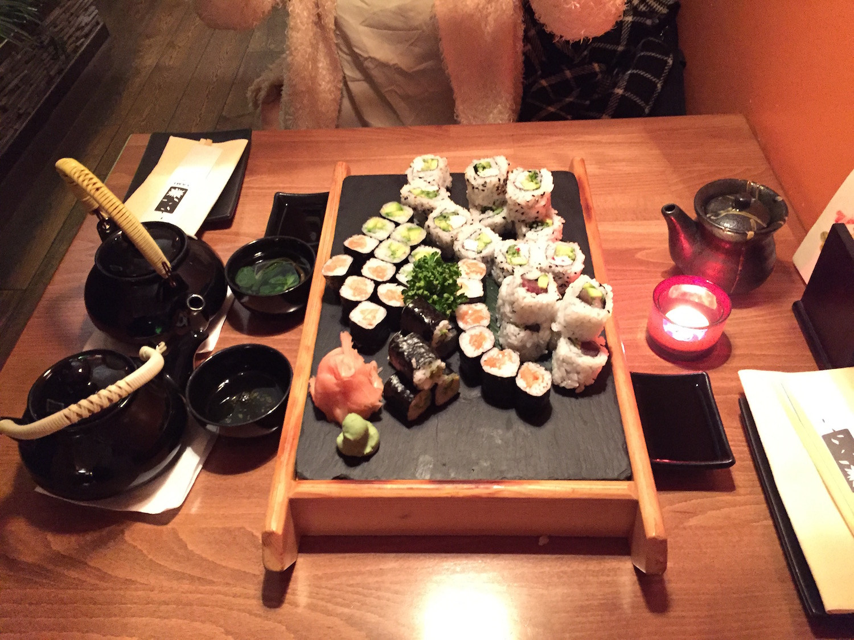 Yami Sushi in Prag