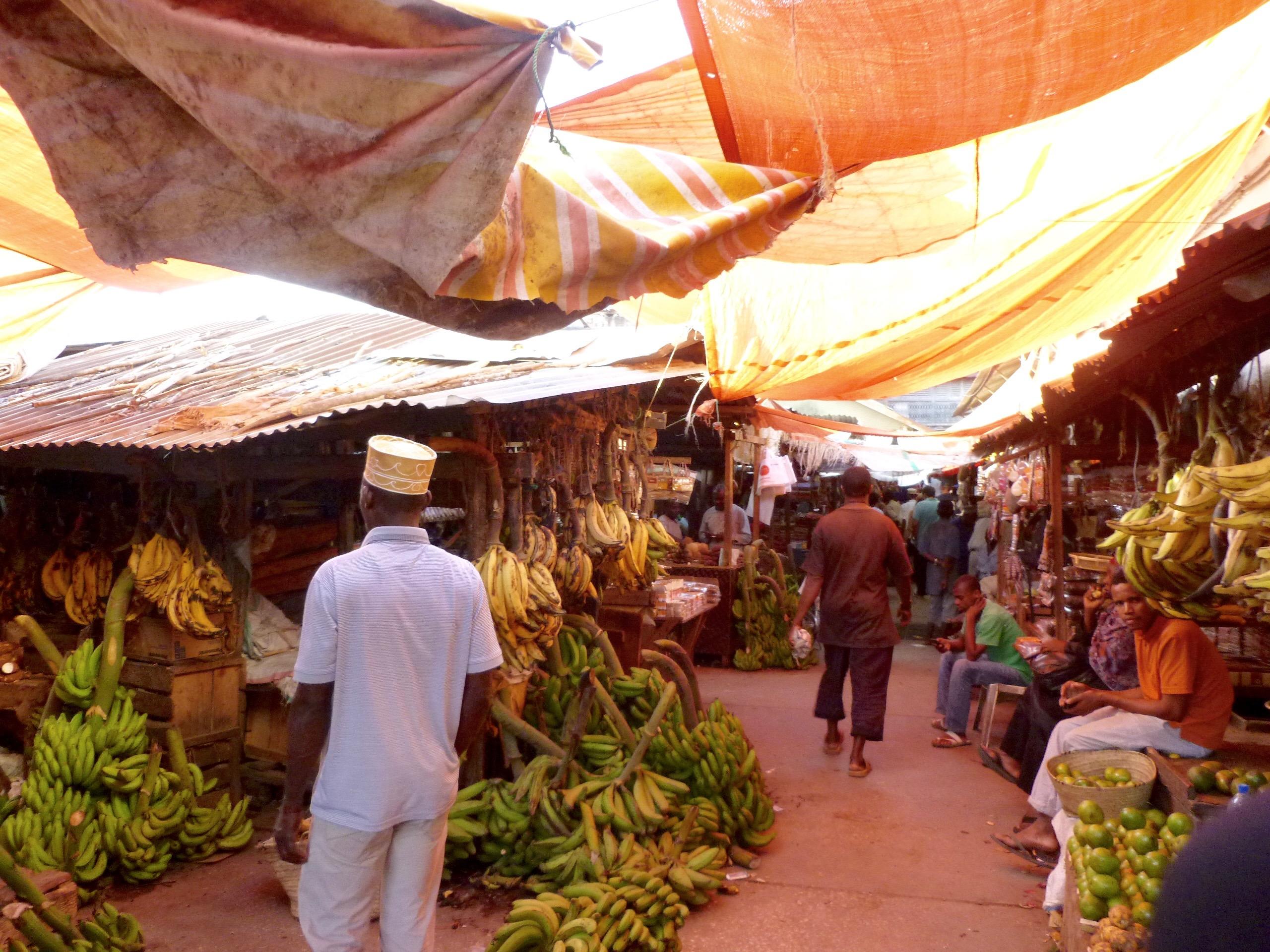 Ein Markt Stone Town