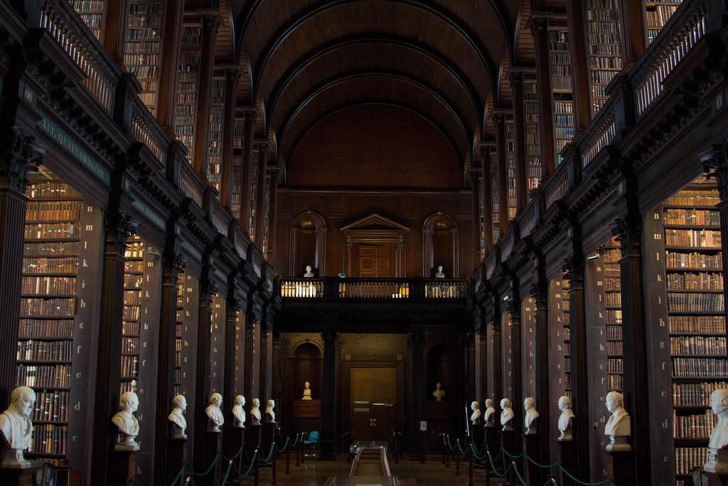 Die Bibliothek des Trinity Colleges