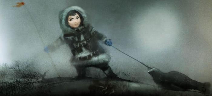 Das kleine Mädchen Nuna (© Upper One Games LLC)