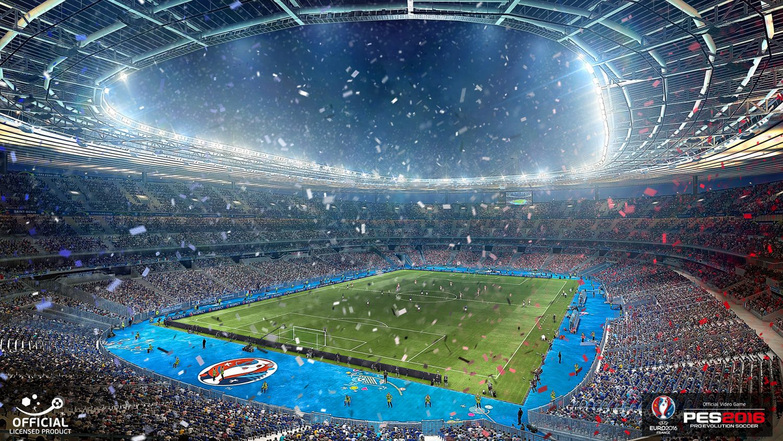 Das Stade de France - Finalort der EM 2016