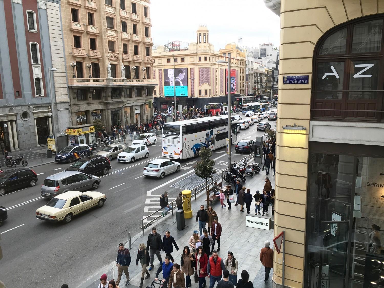 Gran Via - Die Einkaufsstraße Madrids