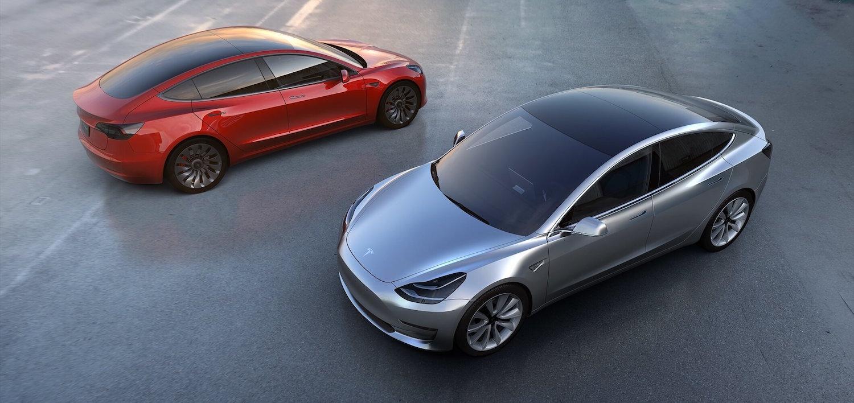 "Das ""Tesla Model 3"" - Bild: teslamotors.com"
