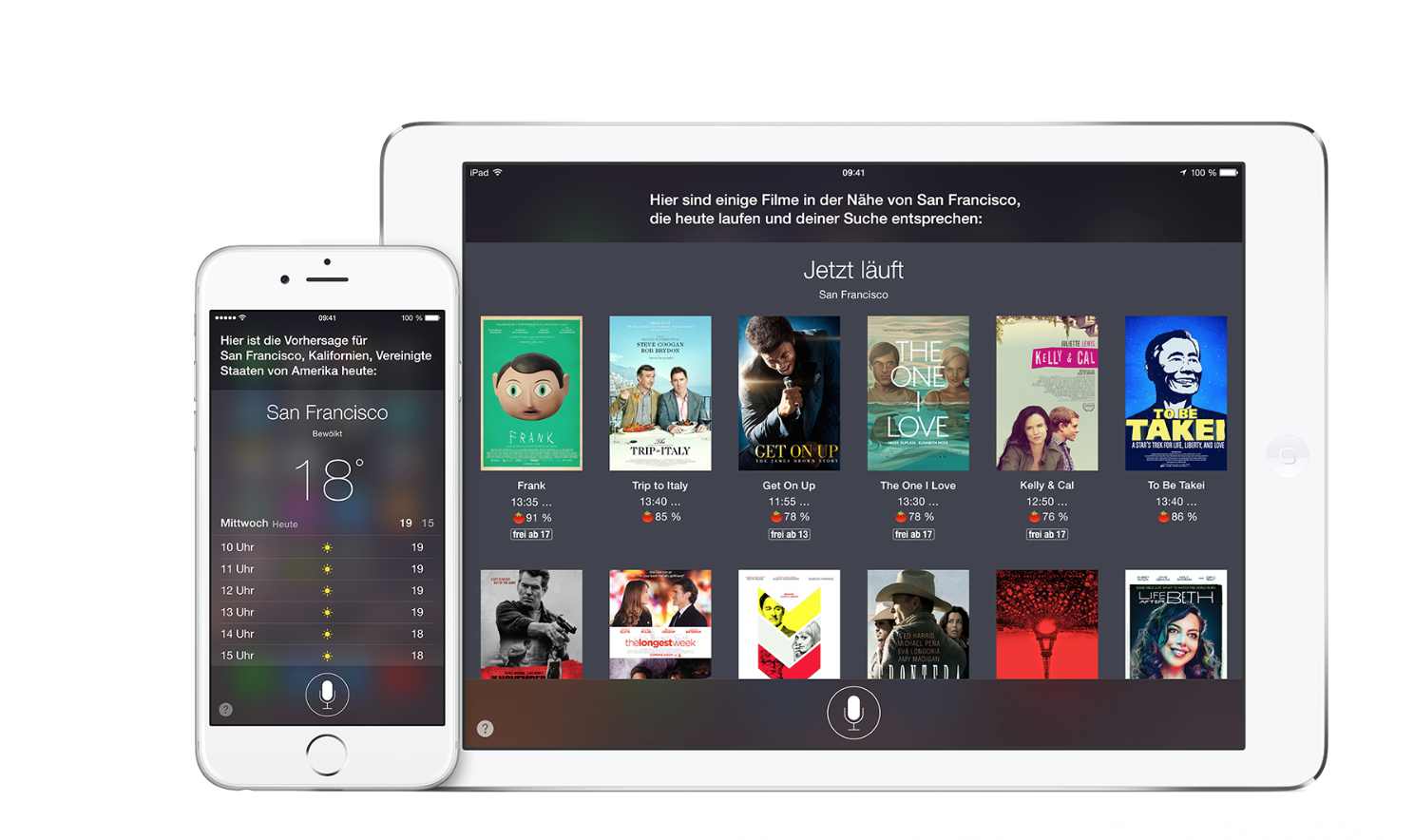 Apple's Siri als Assistent auf dem iPhone oder iPad