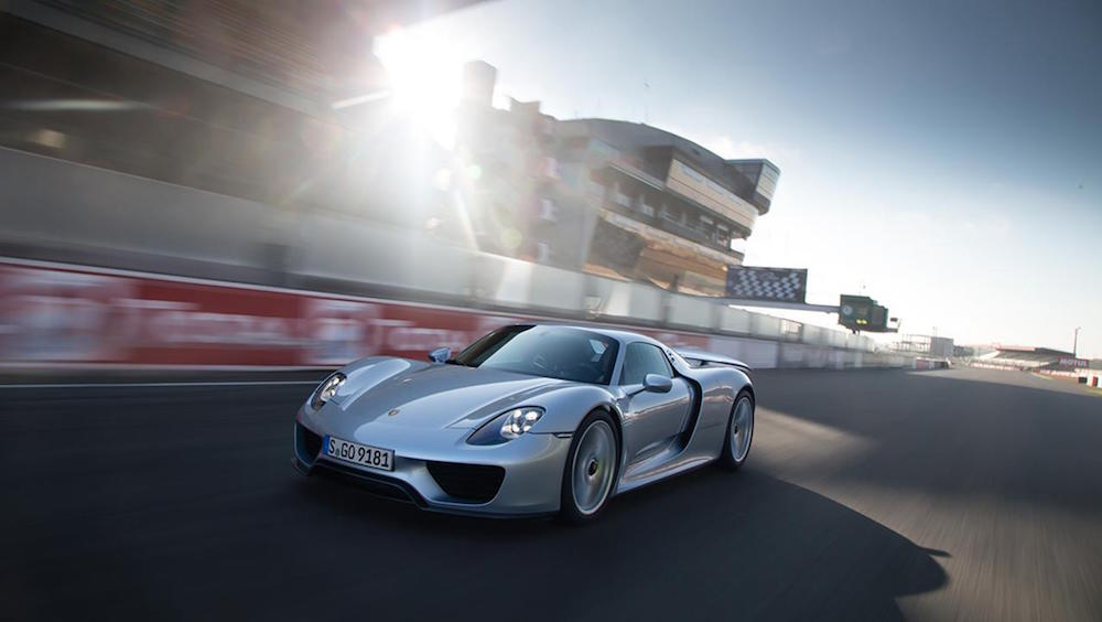 Porsche 918 Spyder mit Hybridtechnologie