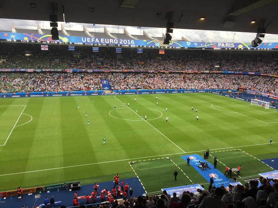 Das große Ziel - Paris - allerdings dann im Stade de France