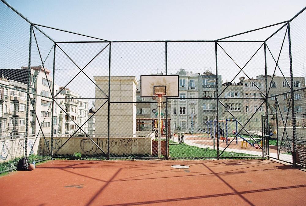 Basketball Platz in Istanbul