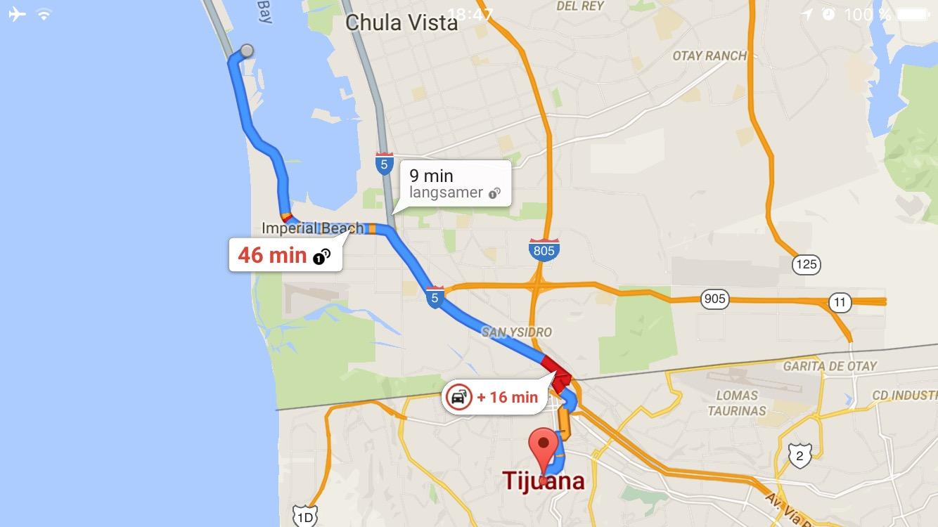 Tijuana Route