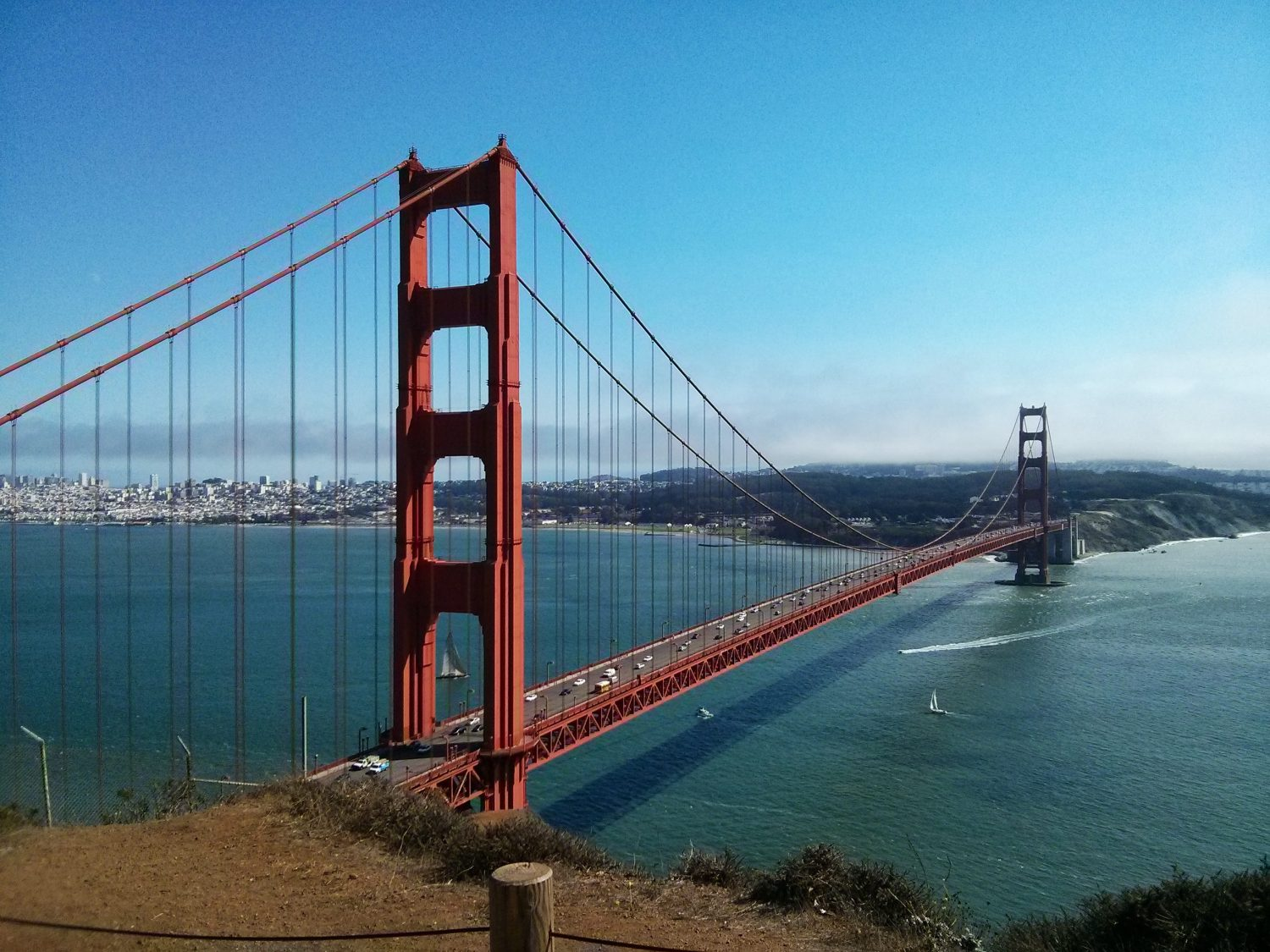 Nothing better than a road trip to San Francisco