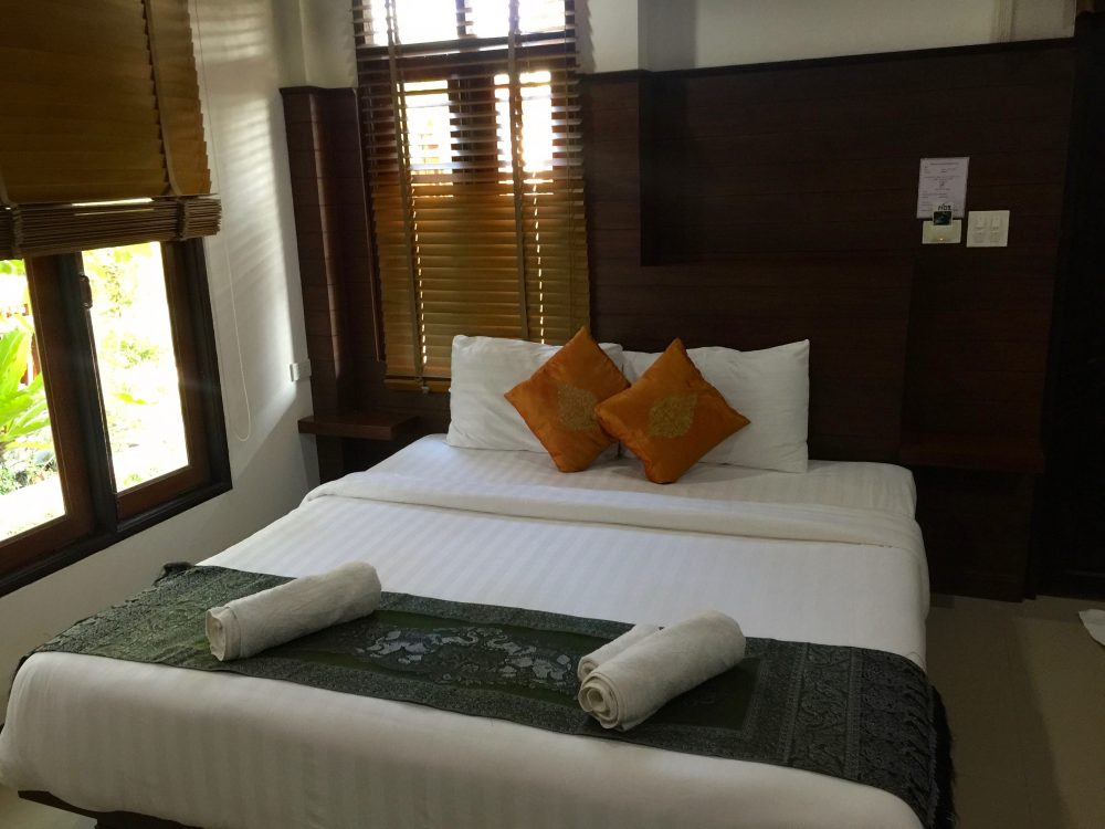Deluxe Bungalow Schlafzimmer