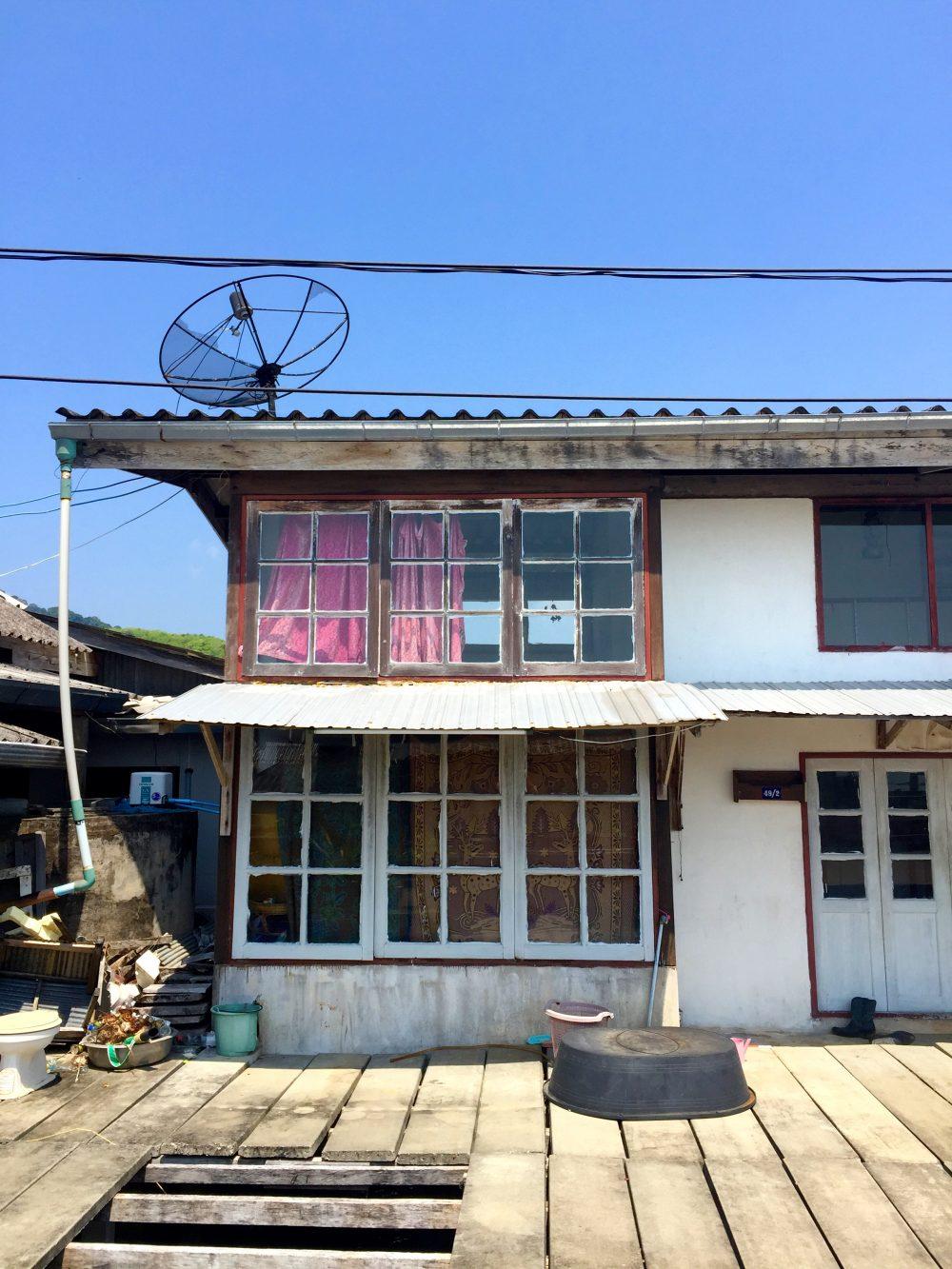 Alter Fischerhaus in Lanta Town