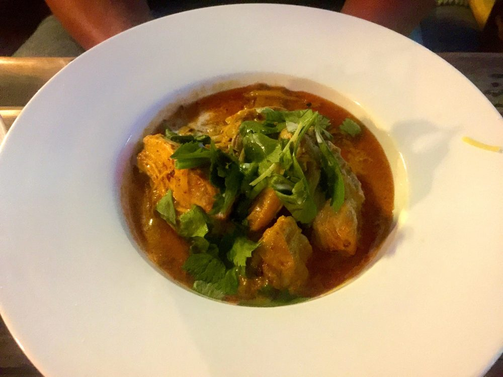 Traditionelles burmesisches Essen