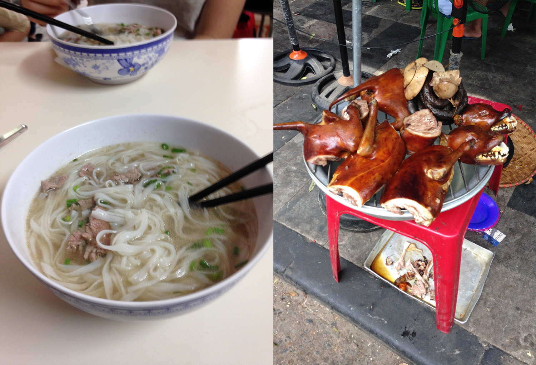 Essen in Vietnam - Hanoi