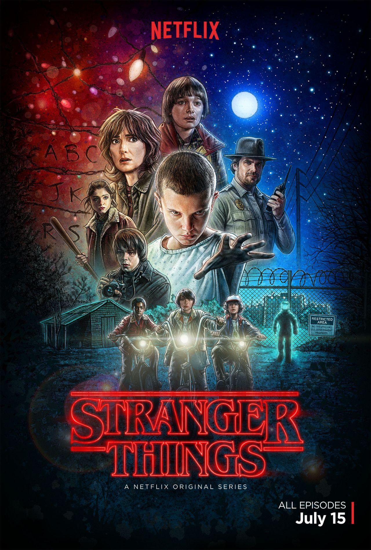 Das offizielle Poster von Stranger Things (Quelle: Netflix)