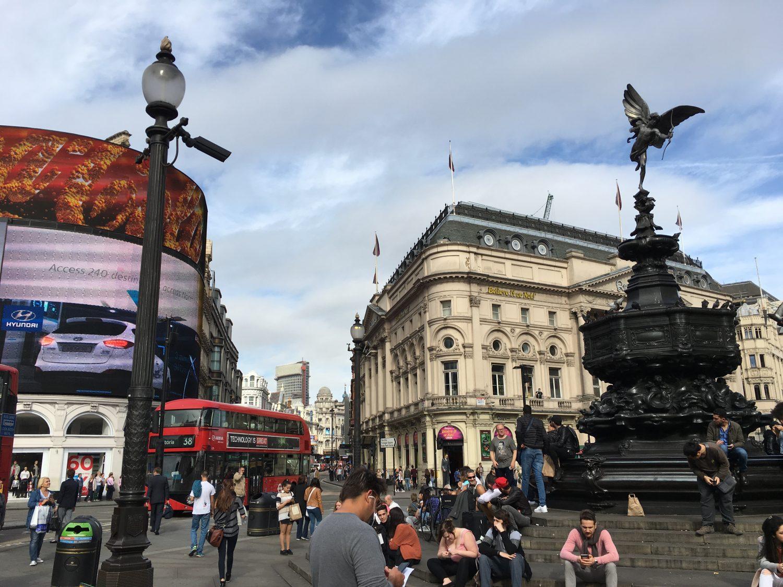 Das inoffizielle Stadtzentrum Londons